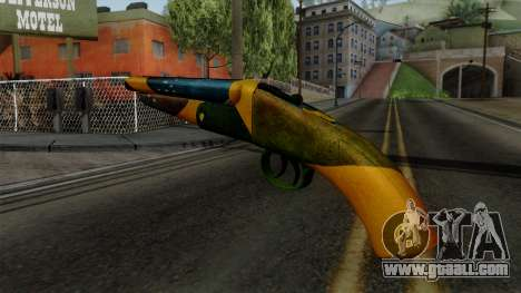 Brasileiro Sawnoff Shotgun v2 for GTA San Andreas second screenshot