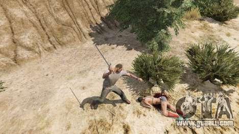 GTA 5 Sword Excalibur fifth screenshot