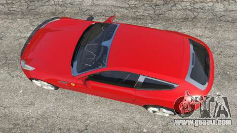 GTA 5 Ferrari FF back view