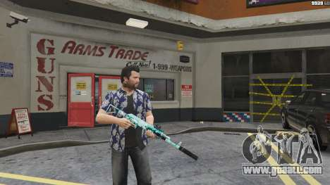 GTA 5 Assault rifle Anime second screenshot