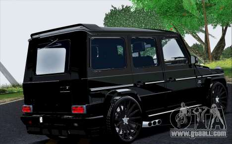 Mercedes Benz G65 Black Star Edition for GTA San Andreas right view