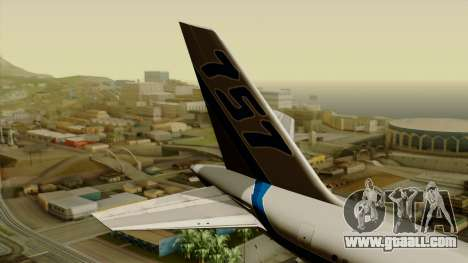 Boeing 757-200 Eastern Air Lines for GTA San Andreas back left view