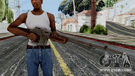 BAR 1918 from Battlefield 1942 for GTA San Andreas third screenshot