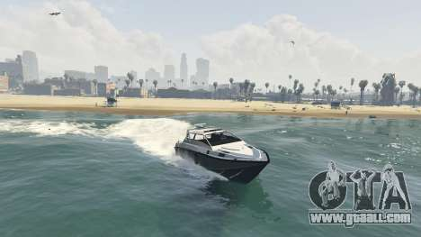 GTA 5 Improved boat Suntrap third screenshot