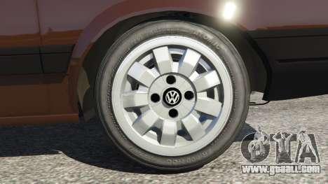 GTA 5 Volkswagen Gol GL 1.8 rear right side view