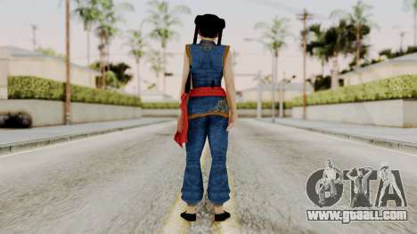 DOA 5 Pai Chan for GTA San Andreas third screenshot