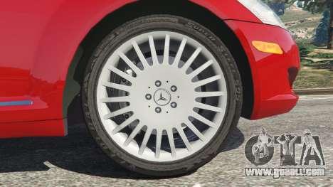 GTA 5 Mercedes-Benz S550 W221 v0.4.1 [Alpha] rear right side view