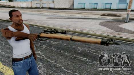 Lee-Enfield No.4 Scope from Battlefield 1942 for GTA San Andreas third screenshot