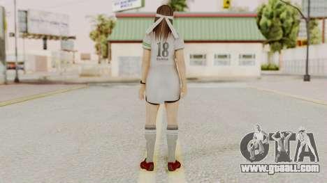 DOA 5 Hitomi Soccer for GTA San Andreas third screenshot