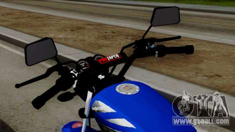 Bera Socialista 2014 for GTA San Andreas back view