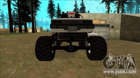 Willard Monster for GTA San Andreas upper view
