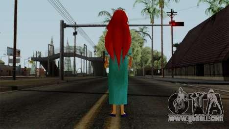 Ariel (Human Version) for GTA San Andreas third screenshot