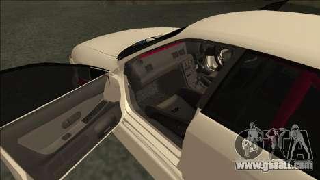 Nissan Skyline R32 Sedan Monster Energy Drift for GTA San Andreas side view