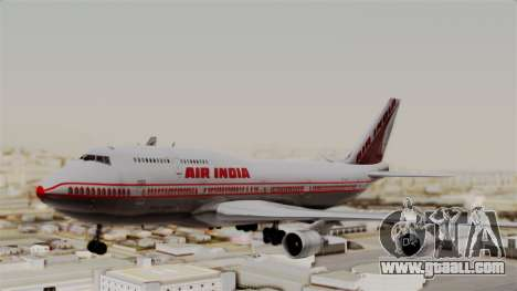 Boeing 747-400 Air India Old for GTA San Andreas