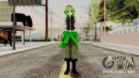 Gumi Love Is War (Vocaloid) for GTA San Andreas second screenshot