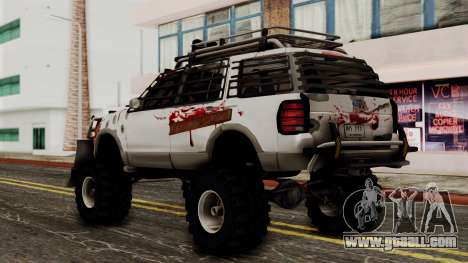 Ford Explorer Zombie Protection for GTA San Andreas left view