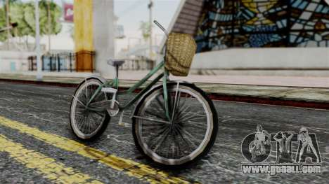 Olad Bike from Bully for GTA San Andreas