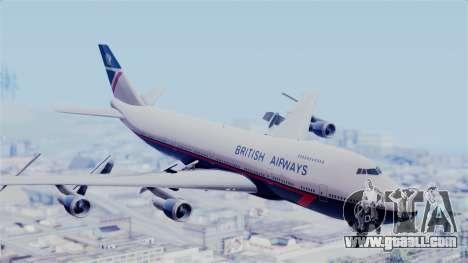 Boeing 747 British Airlines (Landor) for GTA San Andreas