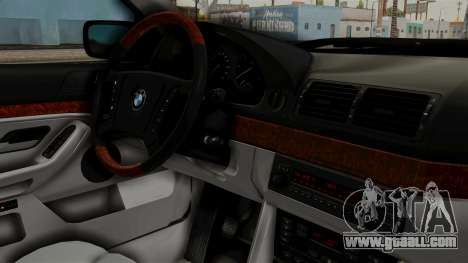 BMW 530D E39 1999 Stock for GTA San Andreas right view