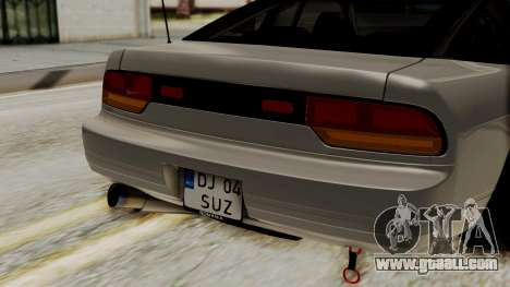 Nissan 240SX HQ for GTA San Andreas back view
