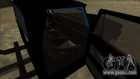 Chevrolet C10 Drift Monster Energy for GTA San Andreas back left view