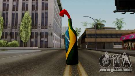 Brasileiro Molotov Cocktail v2 for GTA San Andreas