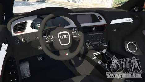 GTA 5 Audi S4 front right side view