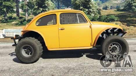 GTA 5 Volkswagen Beetle Baja Bug [Beta] left side view