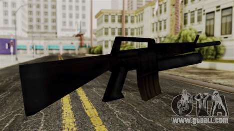 M16 from Delta Force for GTA San Andreas second screenshot