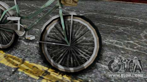 Olad Bike from Bully for GTA San Andreas right view