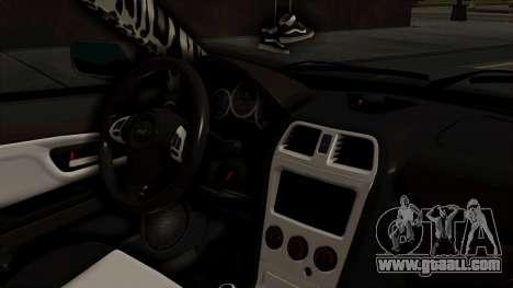Subaru Impreza WRX STI HQ for GTA San Andreas right view