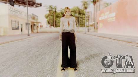 DOA 5 Helena Formal for GTA San Andreas second screenshot