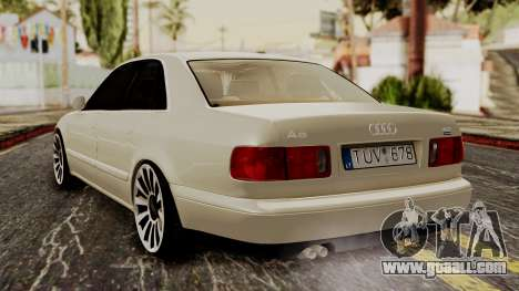 Audi A8 D2 for GTA San Andreas left view