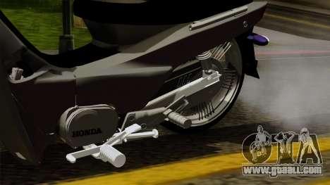 Honda Wave Tuning for GTA San Andreas right view