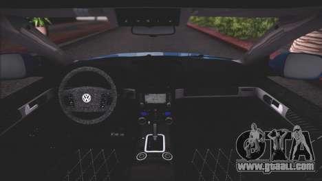 Volkswagen Touareg R50 2008 for GTA San Andreas engine