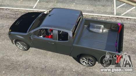 GTA 5 Isuzu D-Max back view