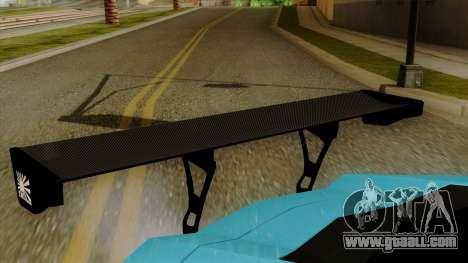 Lamborghini Aventador LB Performance for GTA San Andreas back view