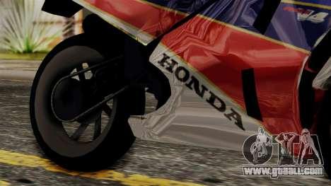 Honda VFR 750R for GTA San Andreas right view