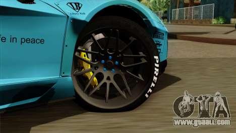 Lamborghini Aventador LB Performance for GTA San Andreas back left view
