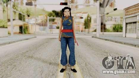DOA 5 Pai Chan for GTA San Andreas second screenshot
