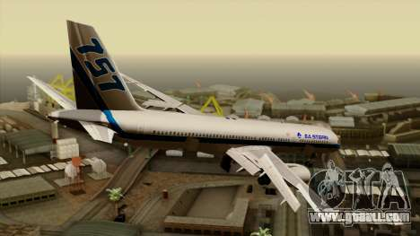 Boeing 757-200 Eastern Air Lines for GTA San Andreas left view
