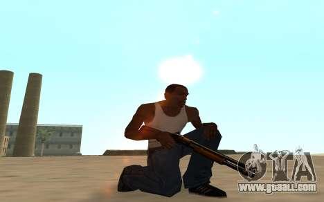Nitro Weapon Pack for GTA San Andreas sixth screenshot