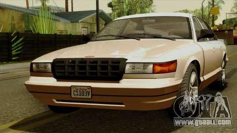 GTA 5 Vapid Stanier I for GTA San Andreas