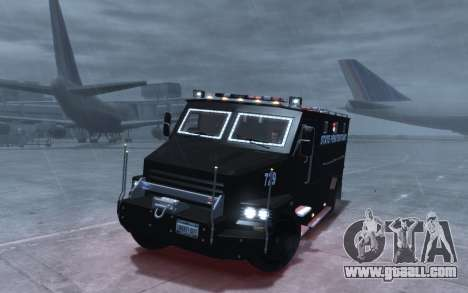 International 4000-Series SWAT Van for GTA 4 back view