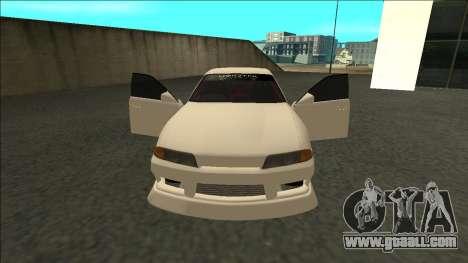 Nissan Skyline R32 Sedan Monster Energy Drift for GTA San Andreas right view