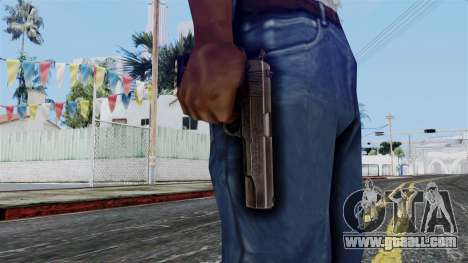Colt M1911 from Battlefield 1942 for GTA San Andreas third screenshot