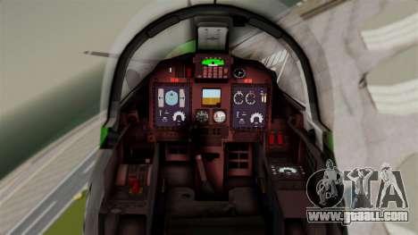 EMB-314 Super Tucano Factory USA for GTA San Andreas right view