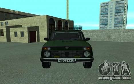 VAZ 21213 Niva for GTA San Andreas right view