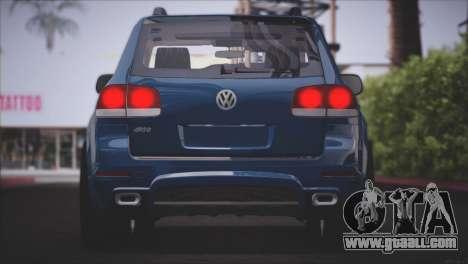 Volkswagen Touareg R50 2008 for GTA San Andreas bottom view