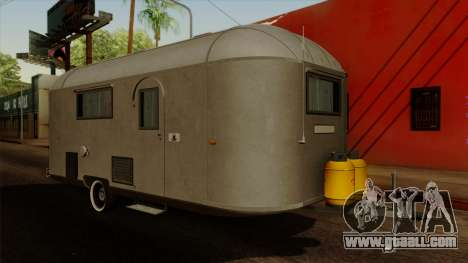 Camper Trailer 1954 for GTA San Andreas